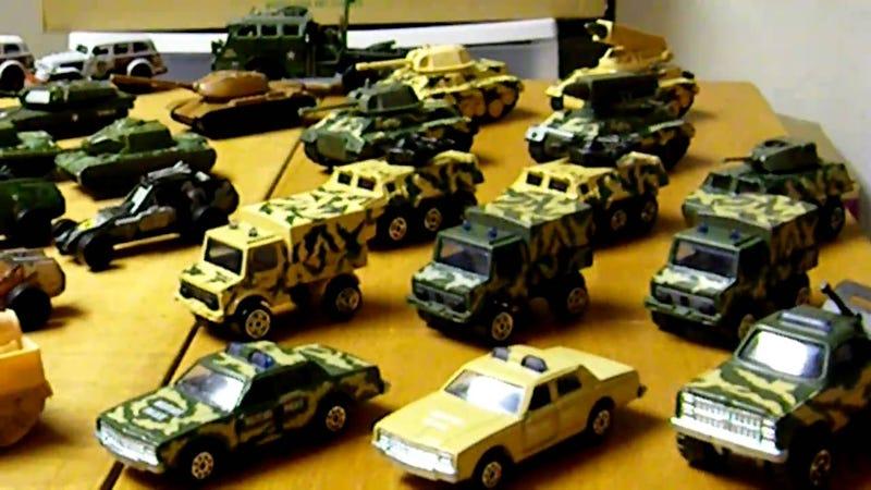 Military HotWheels (small dump)