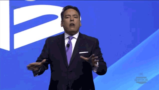 The Many Hand Gestures Of Playstation America's New CEO