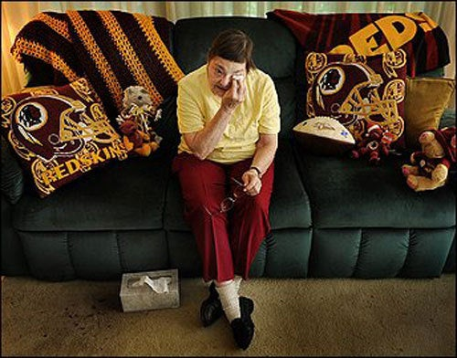 The Washington Redskins Will Sue Your Grandmother Into Bankruptcy