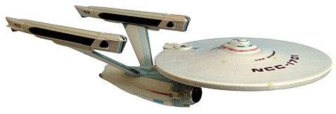 USS Enterprise Model Commemorates 25 Years of Khan