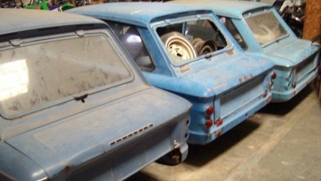 Trio of Hillman Imps define project car hell