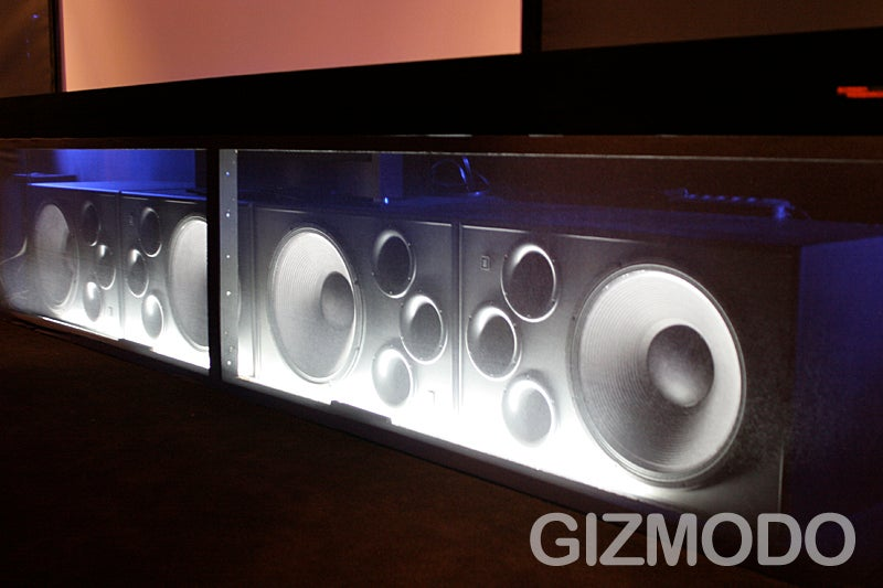 Ears-On with JBL's $300,000 Home Cinema Set-Up with 9.6 Surround Sound (Verdict: OMFGIWANTONE)