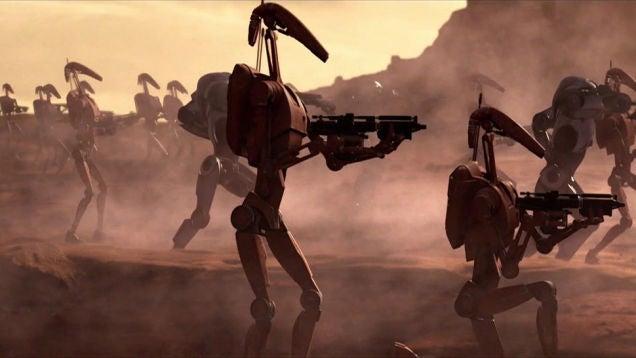 Los 10 droides más inútiles del universo Star Wars