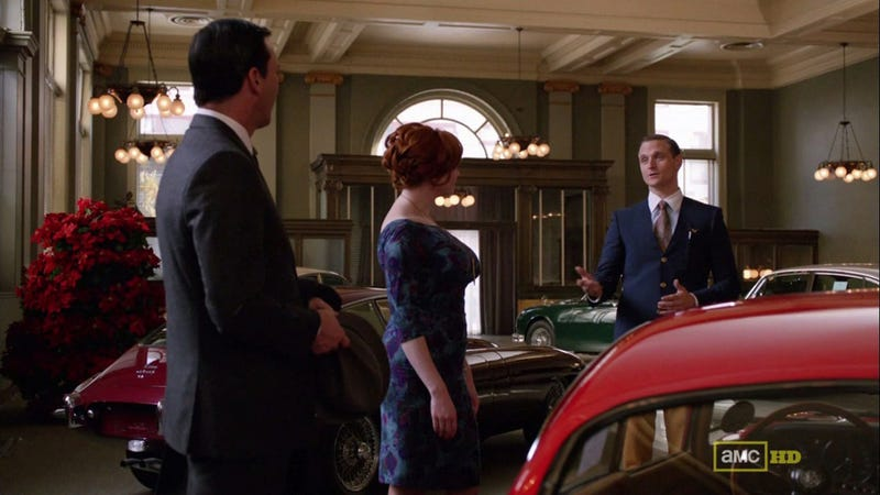 Don Draper Drunk Drives An XKE: The Jaguars Of Mad Men