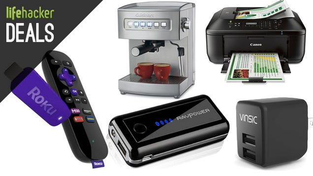 Deals: Roku + Hulu, Wireless Cloud Printer, Programmable Thermostat