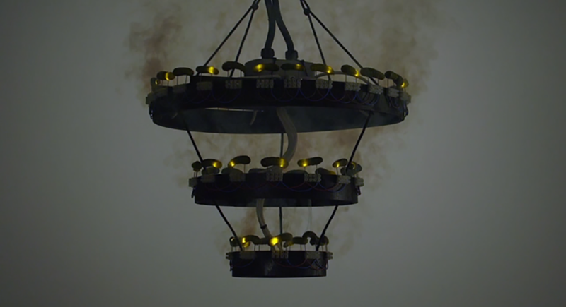 This Pickle Chandelier Has Enough Juice To Power Two Electric Chairs