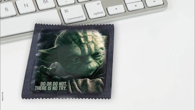 Star Wars condoms will protect your lightsaber