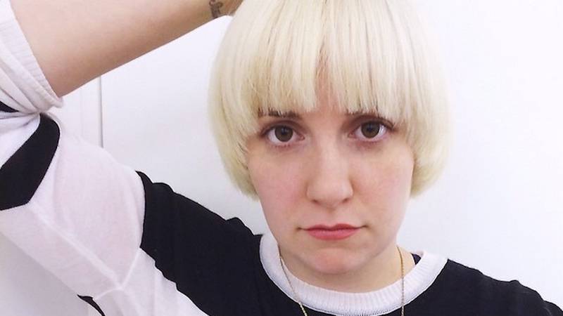 ​Either Lena Dunham is a Master of Deception or She Got a New Haircut