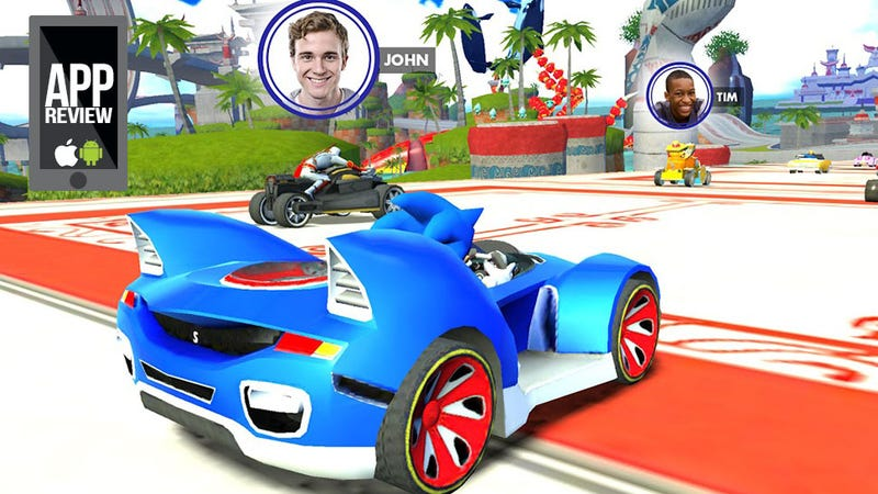 Sonic & All-Stars Racing Transformed Goes Mobile. Is That Good?