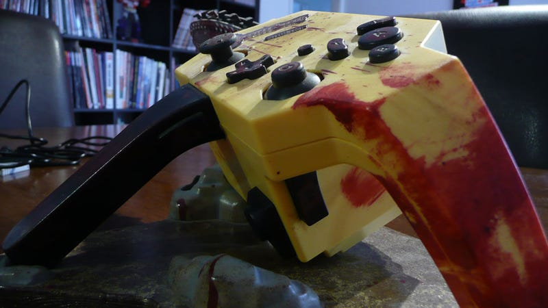 There Is Blood On Your Hands, And On This Controller