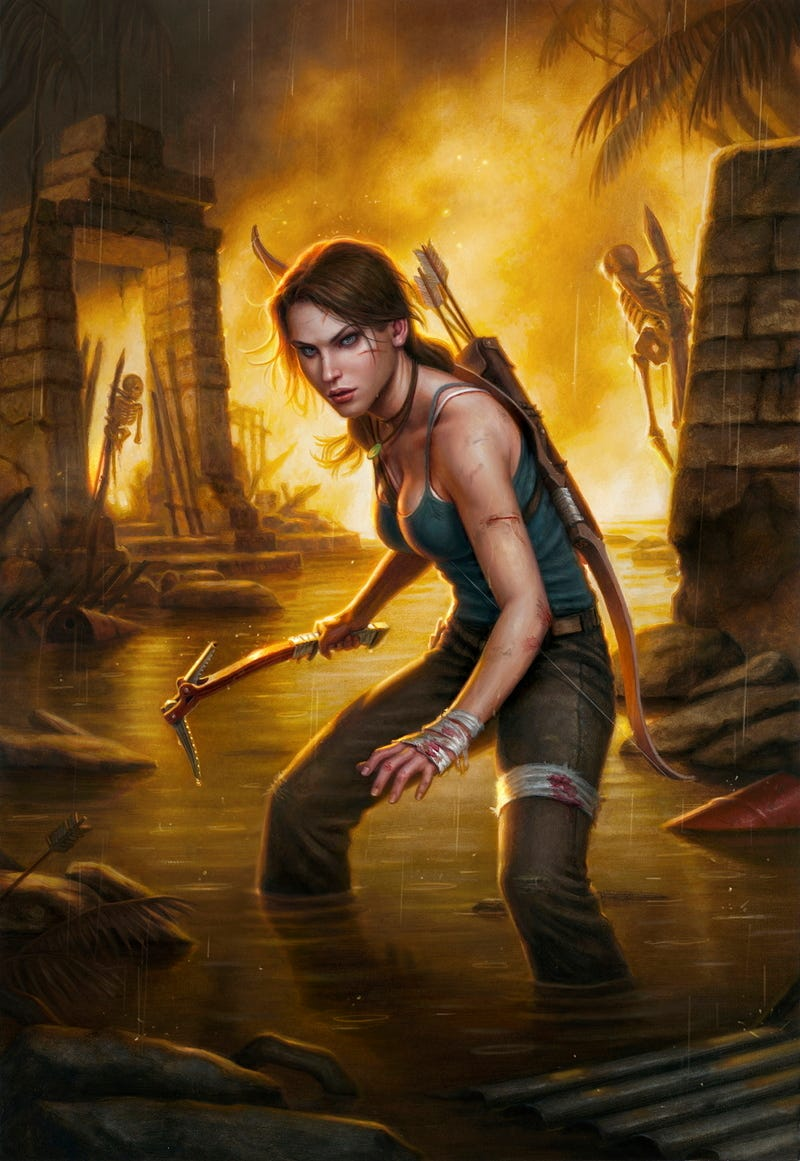 A New Tomb Raider Comic Shows What's Next for Lara Croft After Hit Game