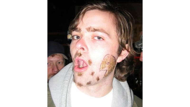 Well, This Is The Worst Pac-Man Facial Hair I've Ever Seen