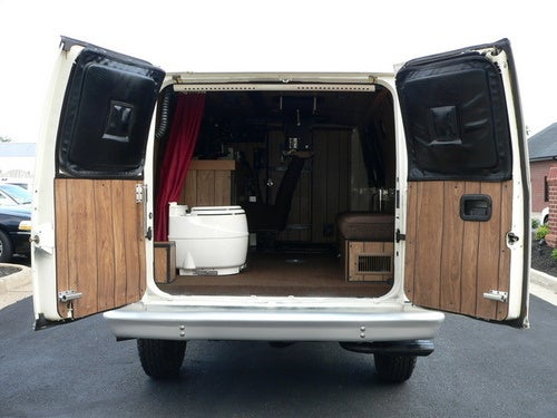 The Toilet-Equipped Ford Econoline Surveillance Van