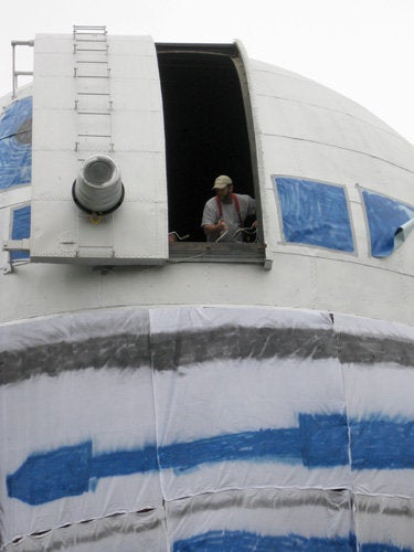 Biggest R2-D2 In the Universe Looks Into the Universe