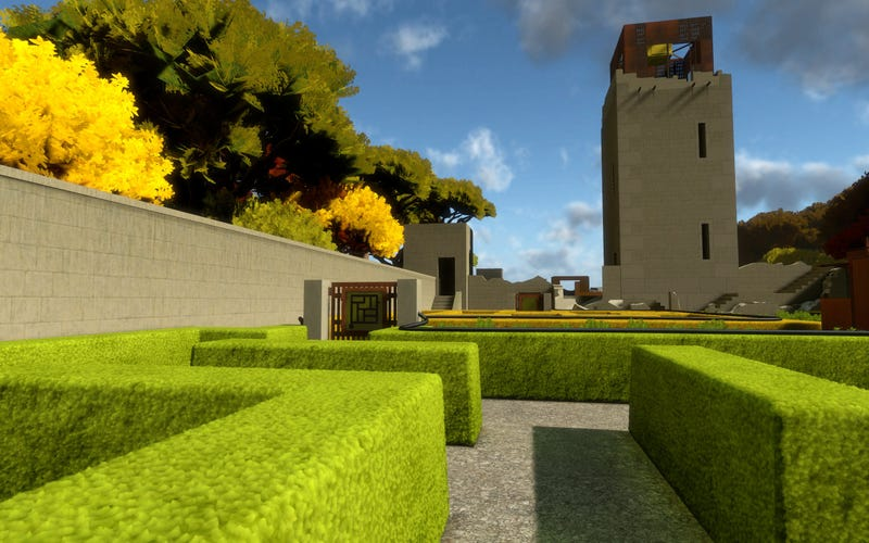 Braid Creator's The Witness Gets an Intriguing Architectural Update