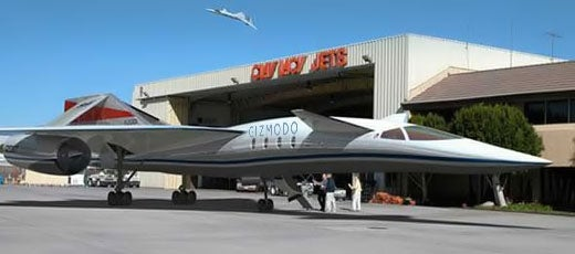 Quiet Supersonic Transport: Private Mach 1.6 Travel by 2013?