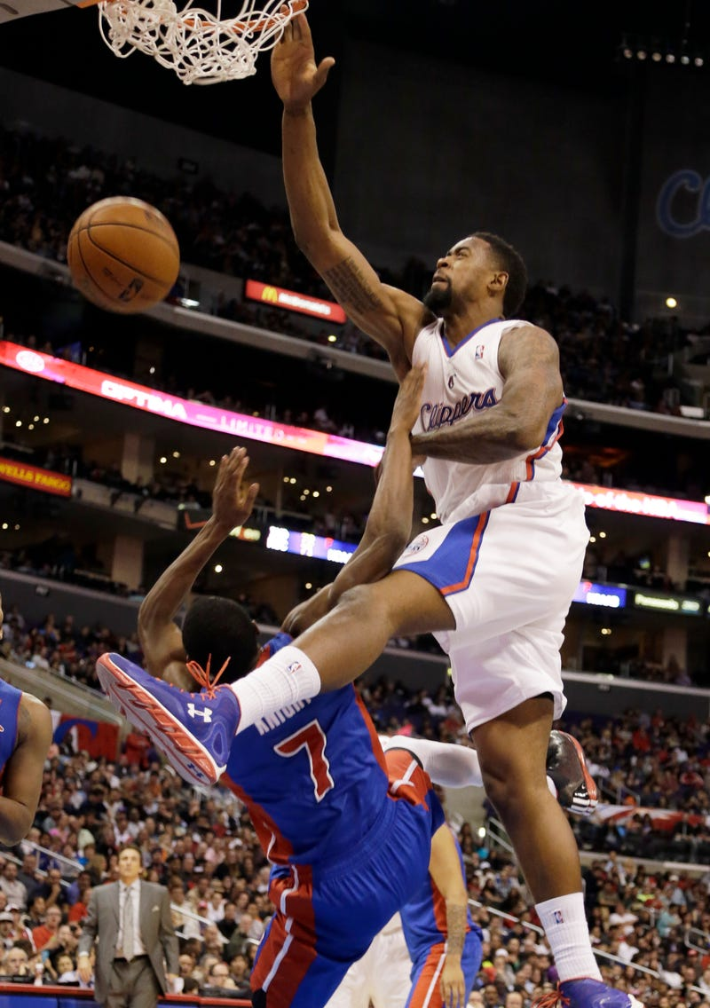 "Here's Your ""DeAndre Jordan Ruining Brandon Knight"" Poster"