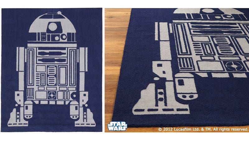This R2-D2 Rug Would Look Great In the Emperor's Throne Room