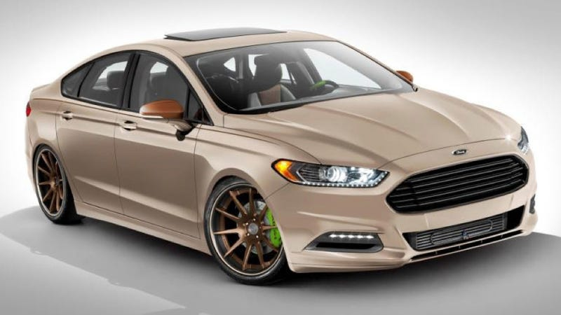 Ford SEMAnizes The Fusion