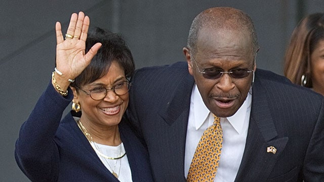 Herman Cain's Wife Says He 'Totally Respects Women'