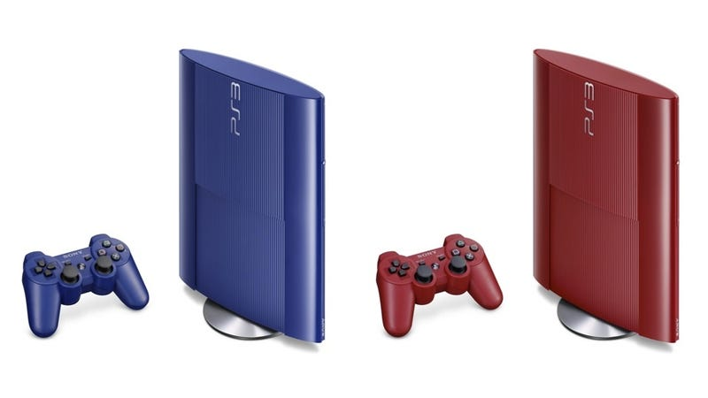 Super-Slim PS3 Is Coming in Blue and in Red