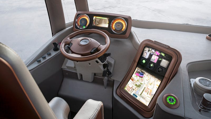 The Rinspeed Micro Max Is A Mini-Sized Bus From The Future