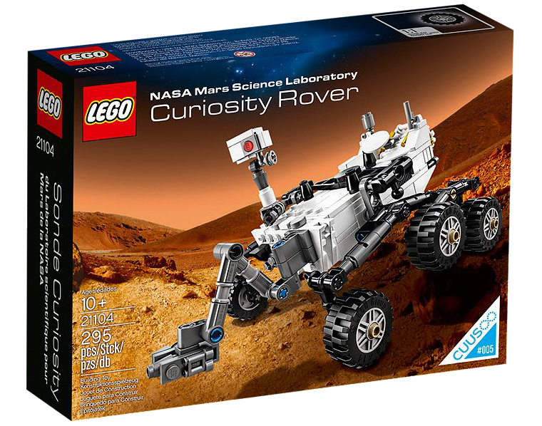 The Lego Mars Curiosity Rover is now available for sale