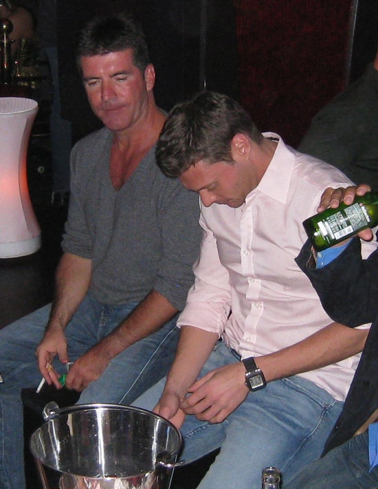 Simon Cowell & Ryan Seacrest: Wasted?