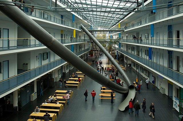 Giant Slides Should be Obligatory In Every University and School Building