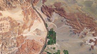 Satellite Images of Agricultural Fields Make the Earth Look 8-Bit