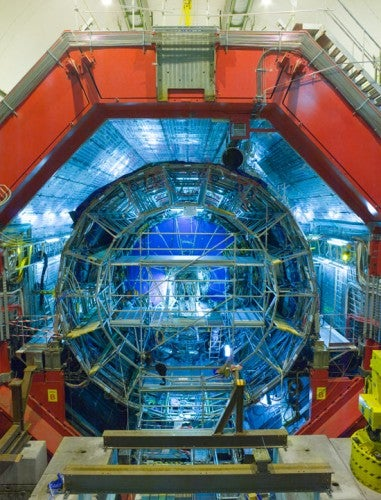 Undeterred by Time-Traveling Saboteurs, the LHC Begins Colliding