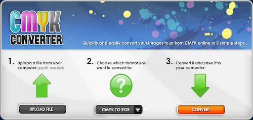 CMYK Converter Converts Between Spectrums with Just a Few Clicks