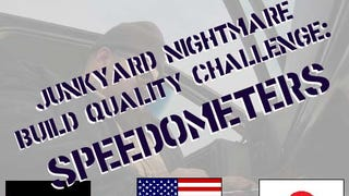 Junkyard Build Quality Challenge, Speedometer Editi