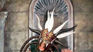 I'm Floored By This Frightening and Gorgeous Diablo III Witchdoctor Cosplay