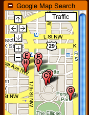 Google Maps Search Gadget for Gmail Does Quick Address Lookups