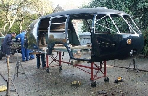 Dymaxion Car Undergoing Complete Restoration