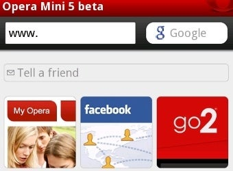 Opera Mini 5 Beta Browses Speedily on Android