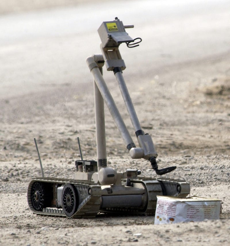 Soldiers are developing relationships with their battlefield robots