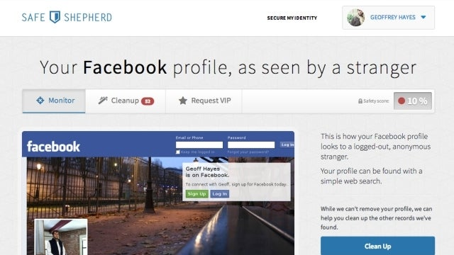 Safe Shepherd Protects Your Social Networks, Keeps Your Data Off of Creepy People Search Engines