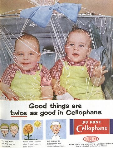 Keep Your Baby Fresh, In Cellophane