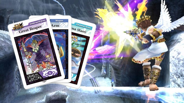 Did You Know Kid Icarus: Uprising is Part Collectible Card Game?