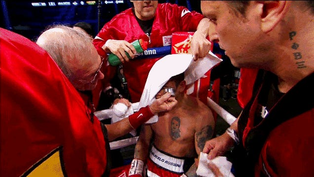 How A Boxer Could Use PEDs Right In The Middle Of A Fight