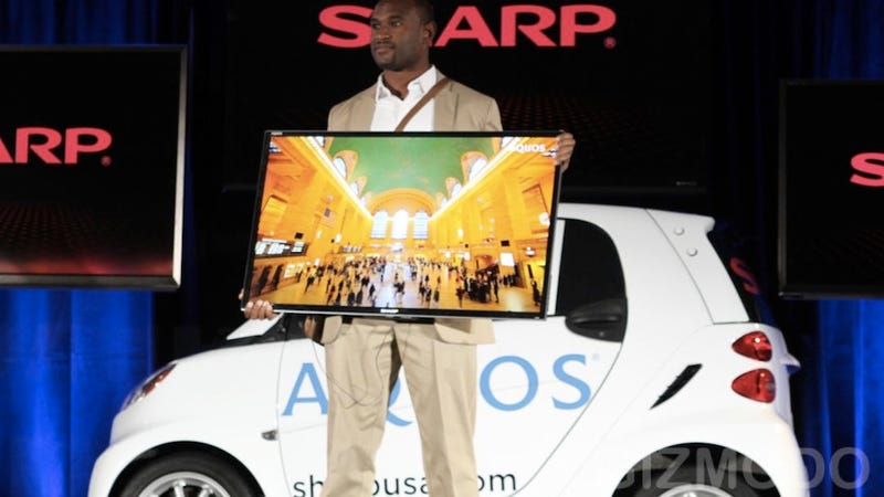 Sharp's Portable HDTVs Don't Make Any Sense (Updated)
