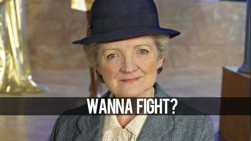 In the Persona Fighting Game, You Cannot Battle This Old Lady