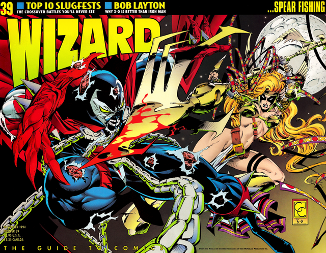 RIP Wizard Magazine, the go-to tome of the early 1990s comic craze