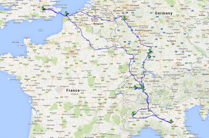 The #GFWroadtrip - 6 Days In Europe
