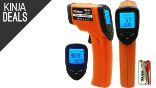 Fun and Cheap IR Thermometer, 100 Velcro Cable Ties for $6, More Deals