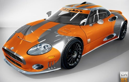 Special-Edition Spyker C8 Laviolette LM85 Looks Ready For LeMans