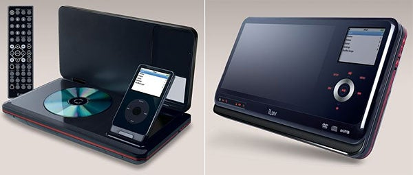 iLuv Portable Video MP3 and DVD Player, for Music and Movies Everywhere
