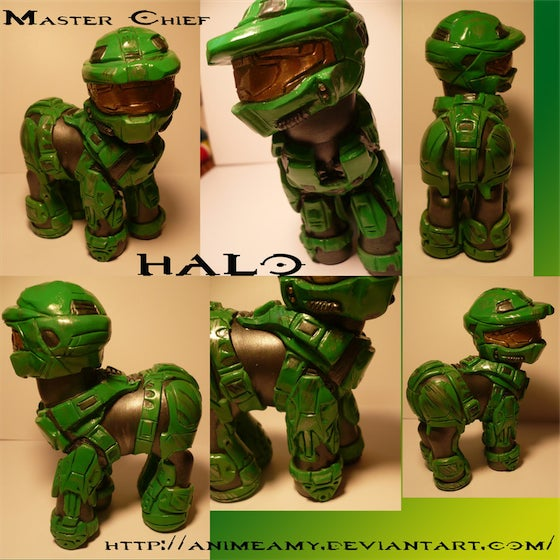 My Little Pony-Master Chief Hybrid Confuses My Sexuality